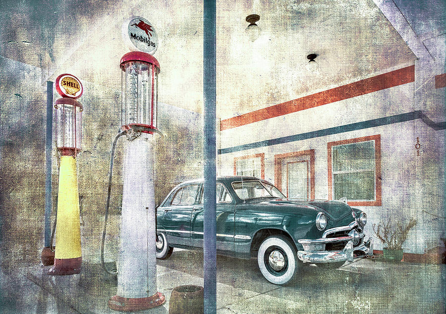 Pete's Gas Station by Wes Iversen
