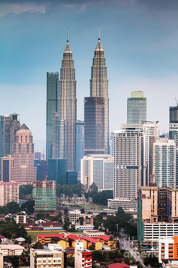 Petronas Twin Towers Klcc Kuala Lumpur Malaysia