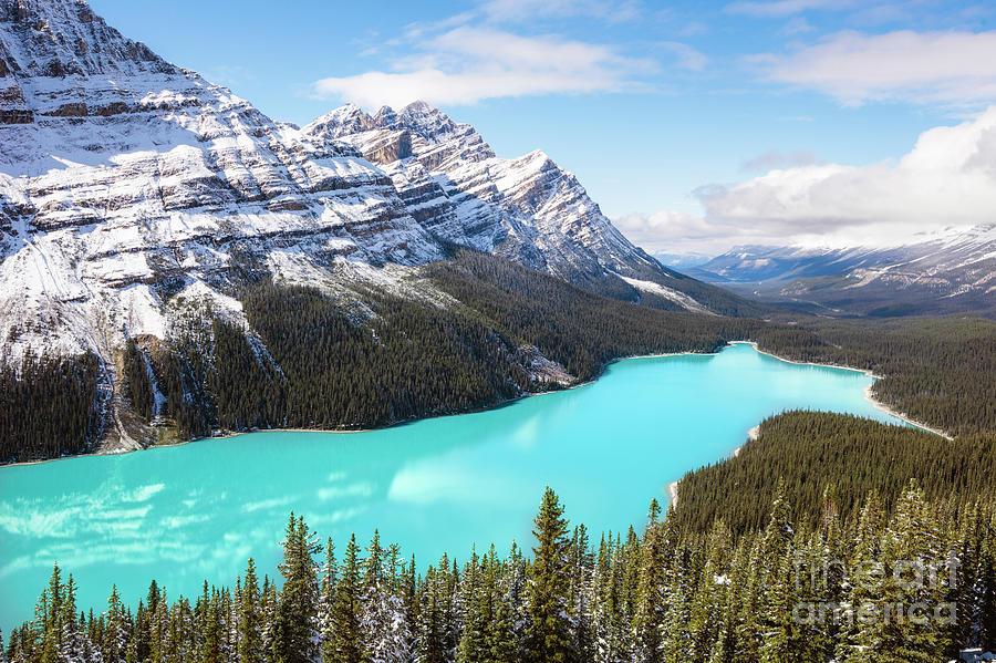 Peyto lake, Banff, Canada by Matteo Colombo