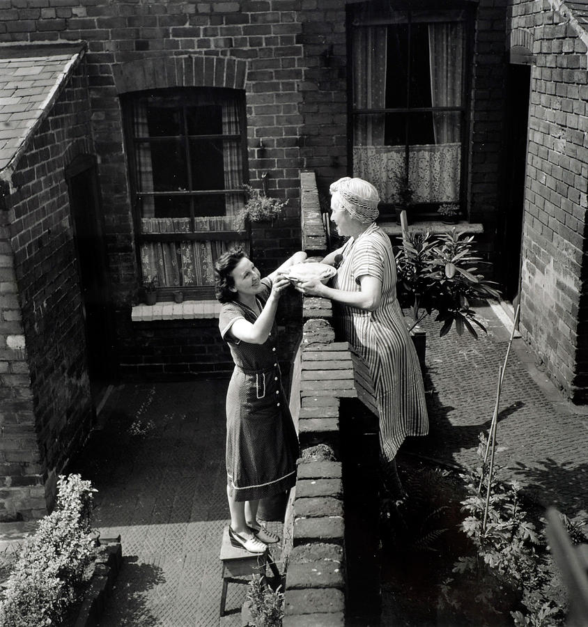 Pf People. Nottingham, England. 1948 Photograph by Popperfoto
