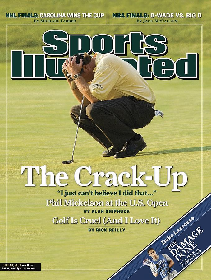 Phil Mickelson, 2006 Us Open Sports Illustrated Cover Photograph by Sports Illustrated