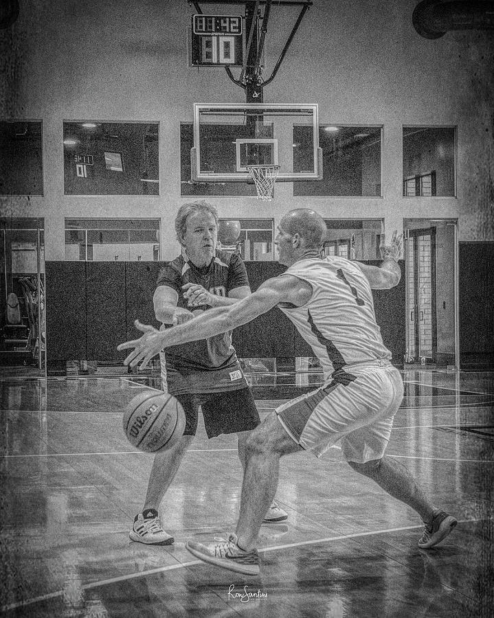 Basketball Photograph - Phil Parsons by Ronald Santini