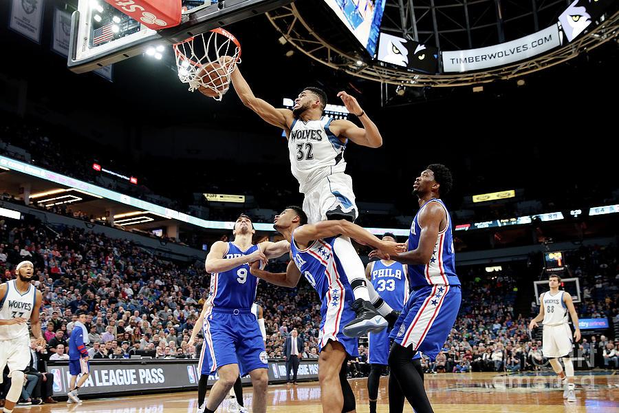 Philadelphia 76ers V Minnesota Photograph by Jordan Johnson