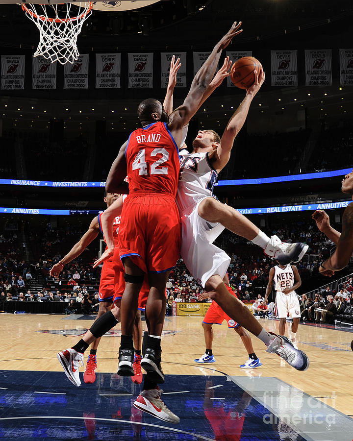 best sneakers aaead d4fc5 Philadelphia 76ers V New Jersey Nets