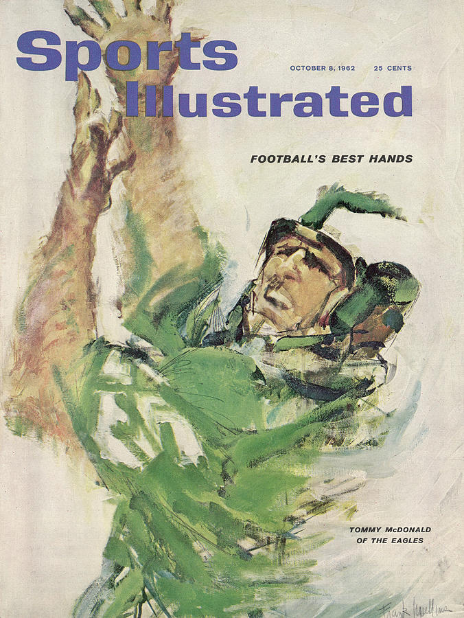 Philadelphia Eagles Tommy Mcdonald Sports Illustrated Cover Photograph by Sports Illustrated