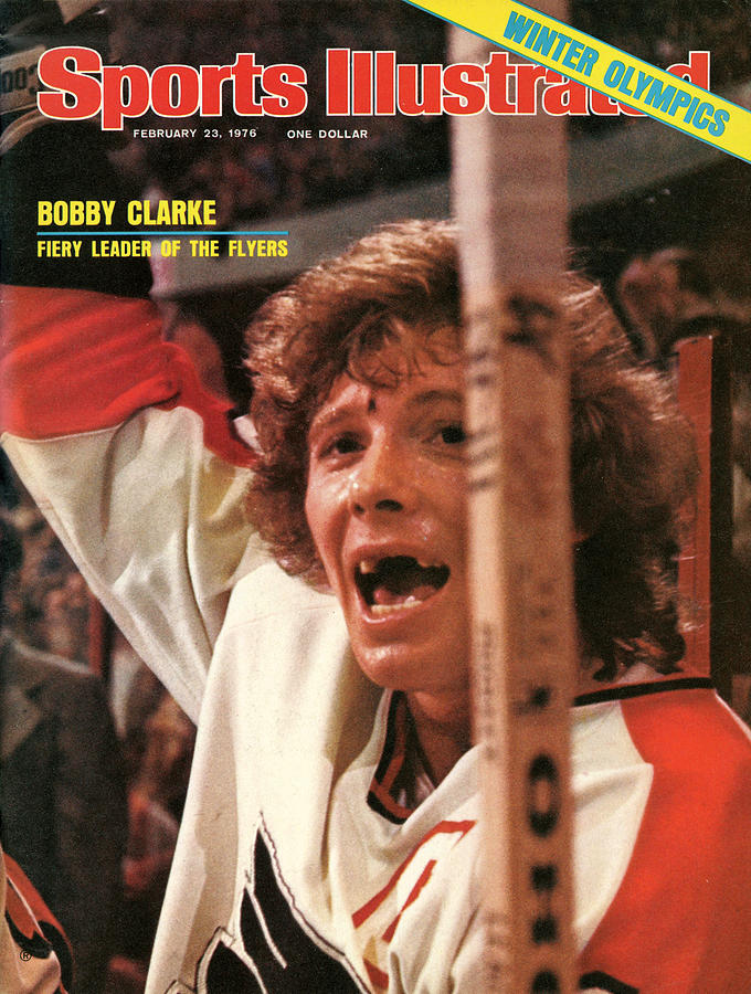 Philadelphia Flyers Bobby Clarke Sports Illustrated Cover Photograph by Sports Illustrated
