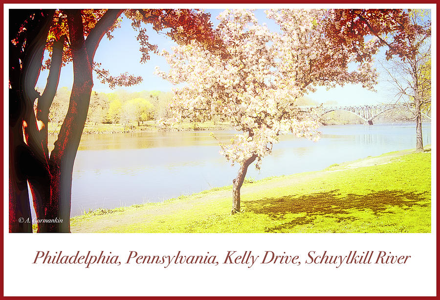 Philadelphia, Pennsylvania, East River Drive, Schuylkill River,  by A Gurmankin