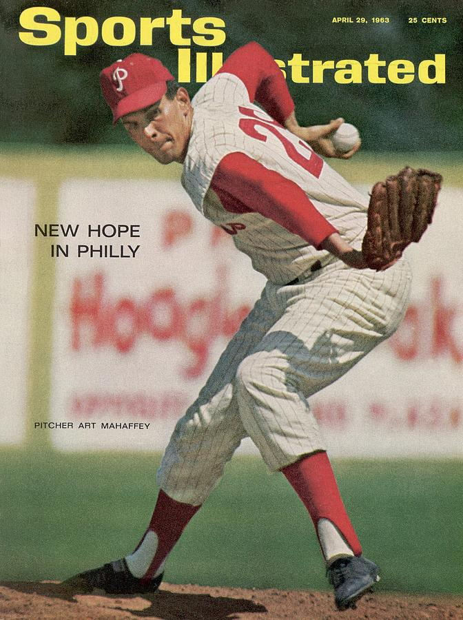 Philadelphia Phillies Art Mahaffey... Sports Illustrated Cover Photograph by Sports Illustrated