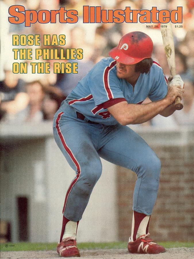 Philadelphia Phillies Pete Rose... Sports Illustrated Cover Photograph by Sports Illustrated