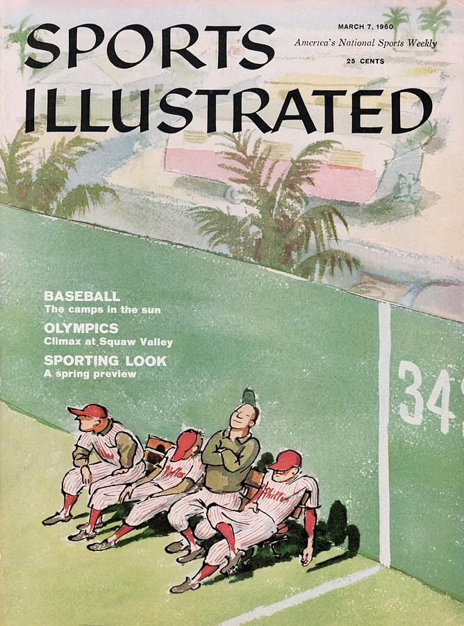 Philadelphia Phillies Spring Training Sports Illustrated Cover Photograph by Sports Illustrated