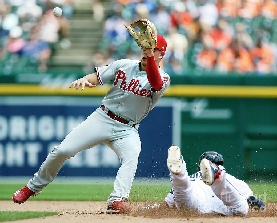 Philadelphia Phillies V Detroit Tigers Photograph by Duane Burleson