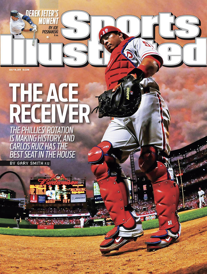 Philadelphia Phillies V St Louis Cardinals Sports Illustrated Cover Photograph by Sports Illustrated