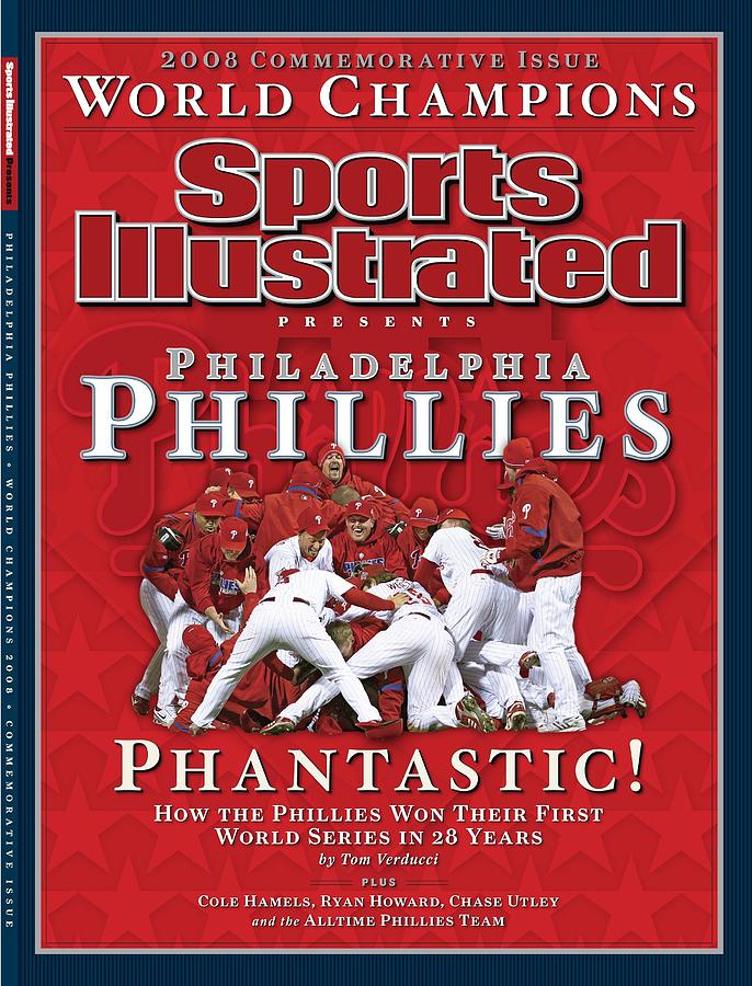 Philadelphia Phillies Vs Tampa Bay Rays, 2008 World Series Sports Illustrated Cover Photograph by Sports Illustrated