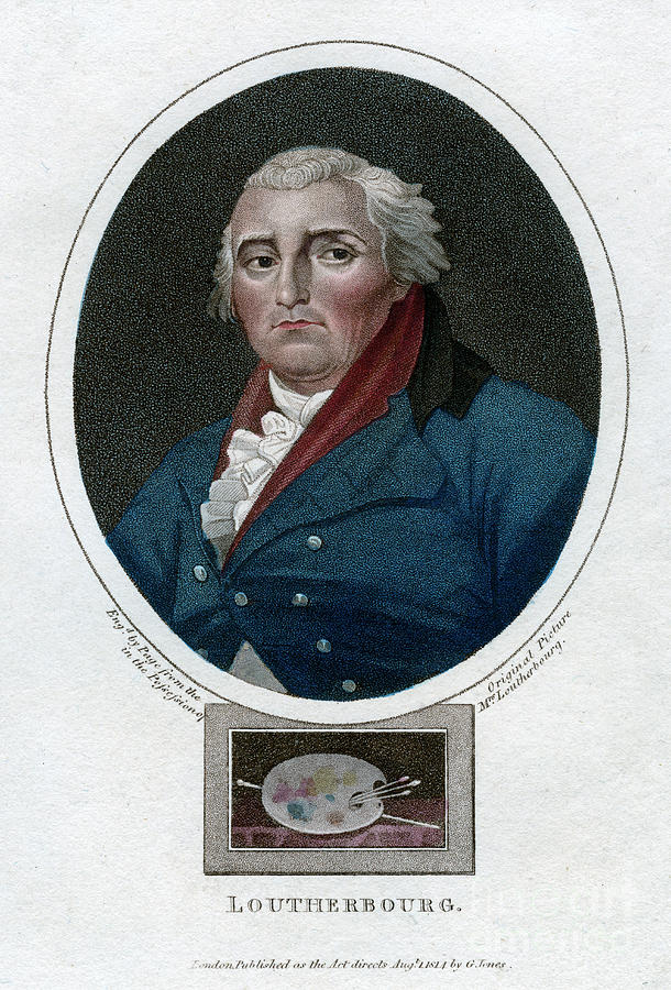 Philip James De Loutherbourg, French Drawing by Print Collector