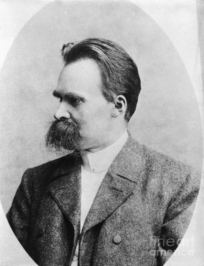 Philosopher Friedrich Nietzsche Photograph by Bettmann