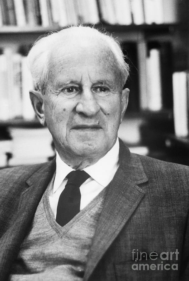 Philosopher Herbert Marcuse Photograph by Bettmann