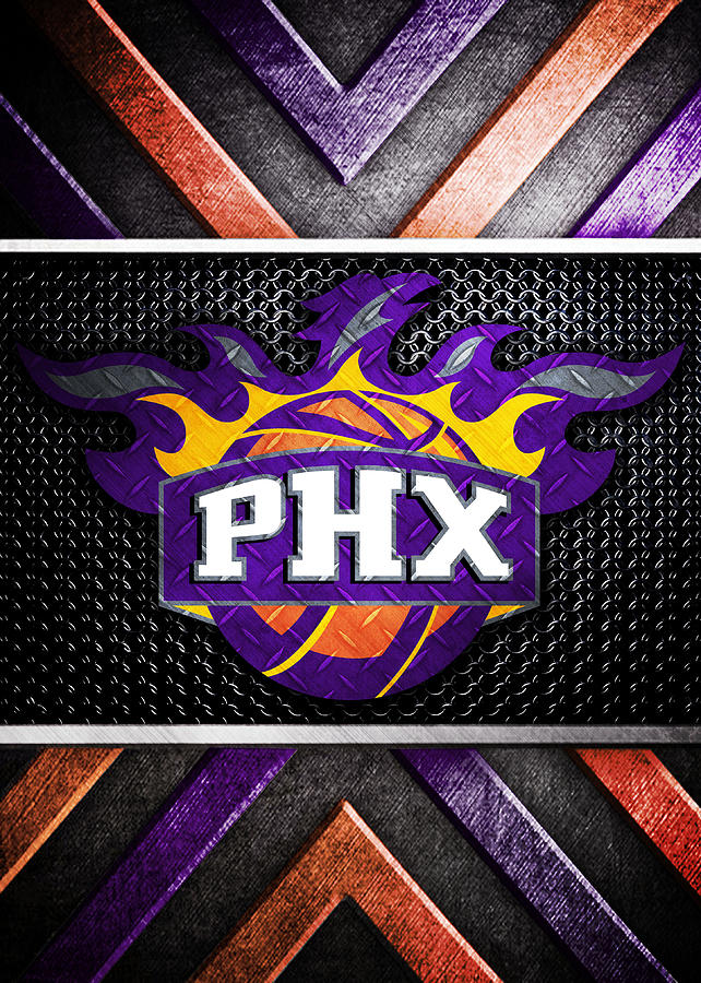 Phoenix Suns Logo Art Digital Art By William Ng