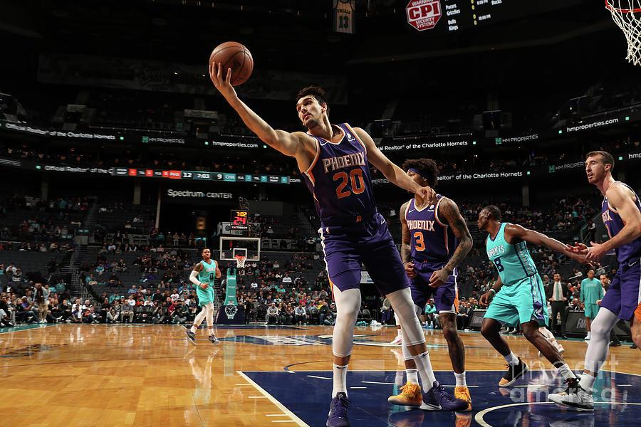 Phoenix Suns V Charlotte Hornets Photograph by Brock Williams-smith