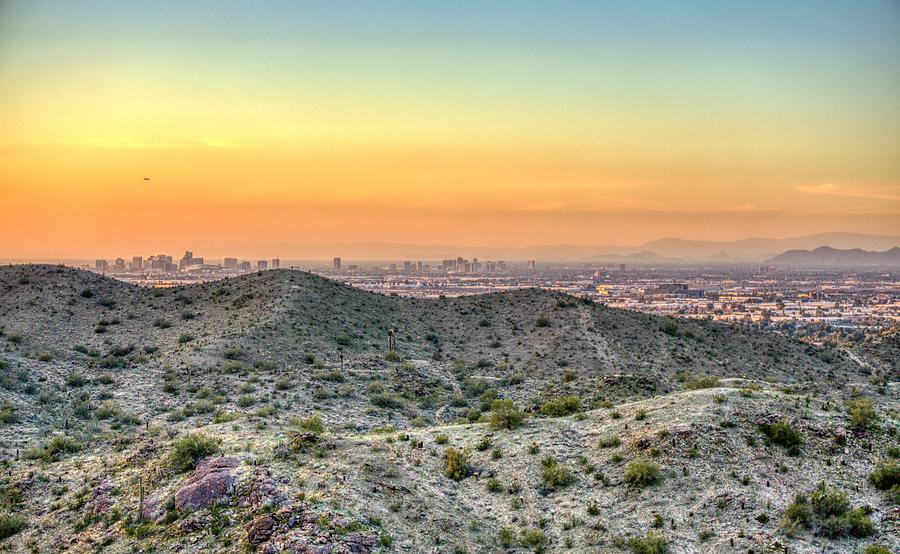 Phoenix Sunset Skyline by Anthony Giammarino