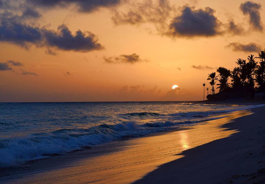 Photo 61 beach sunset by Lucie Dumas
