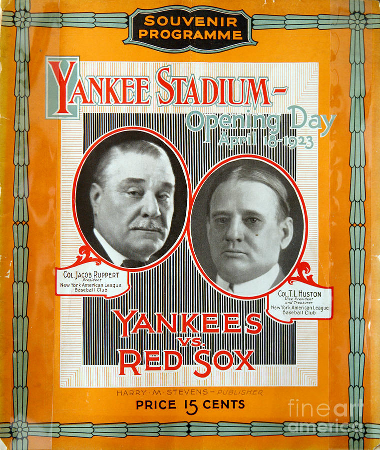 Photo Of An Original Opening Day Photograph by New York Daily News Archive