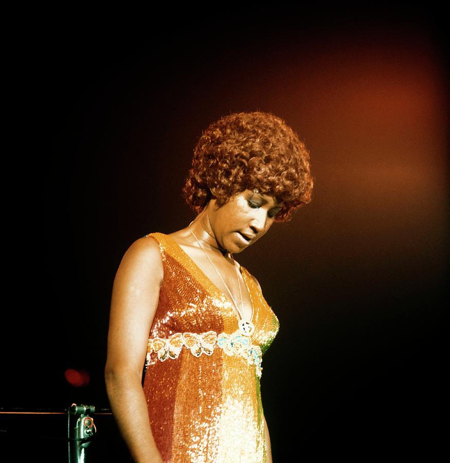 Photo Of Aretha Franklin Photograph by David Redfern