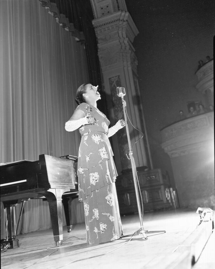 Photo Of Billie Holiday Photograph by Michael Ochs Archives