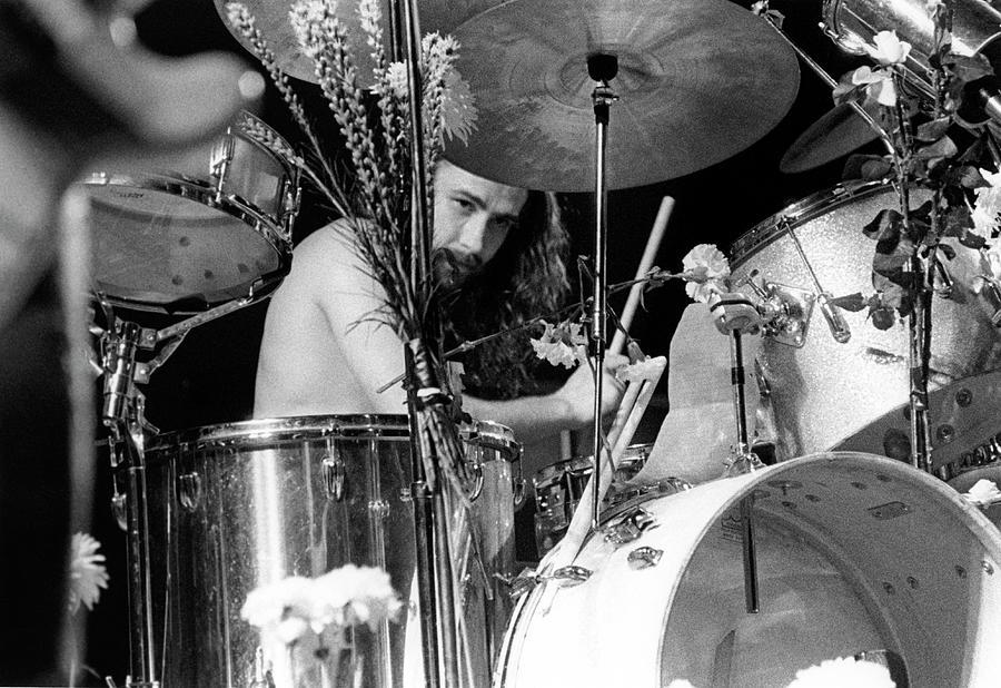 Photo Of Black Sabbath And Bill Ward Photograph by Colin Fuller