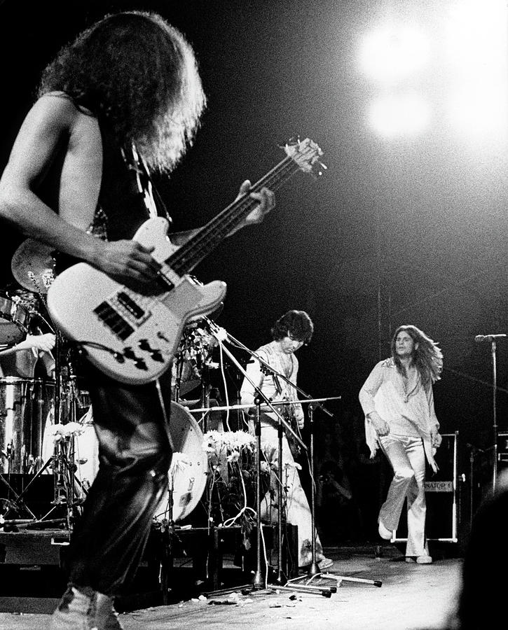 Heavy Metal Photograph - Photo Of Black Sabbath And Geezer Butler by Colin Fuller