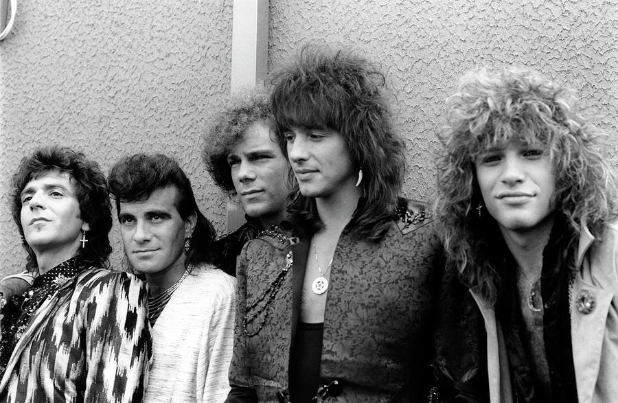 Photo Of Bon Jovi And Richie Sambora Photograph by Mike Cameron