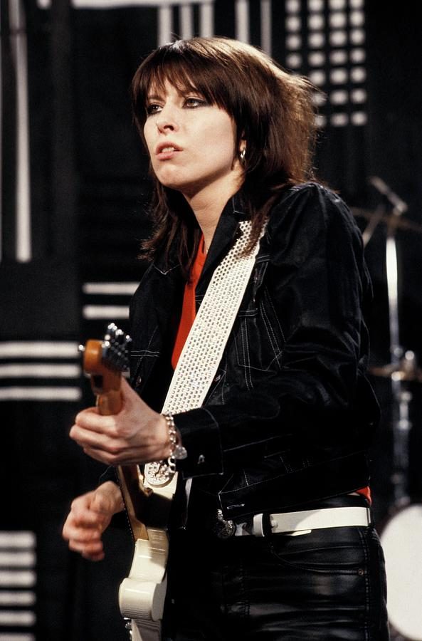 Photo Of Chrissie Hynde And Pretenders Photograph by Steve Morley