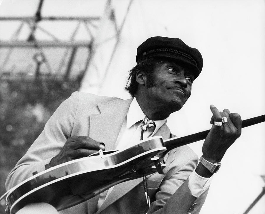 Photo Of Chuck Berry Photograph by David Redfern