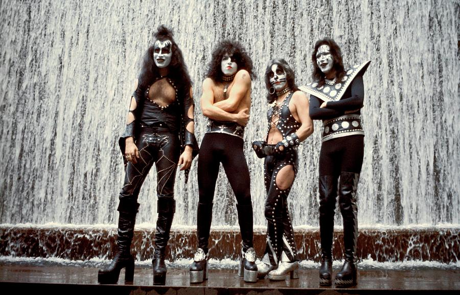 Photo Of Gene Simmons And Kiss And Photograph by Steve Morley