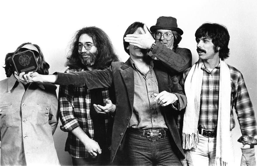 Photo Of Grateful Dead Photograph by Richard Mccaffrey