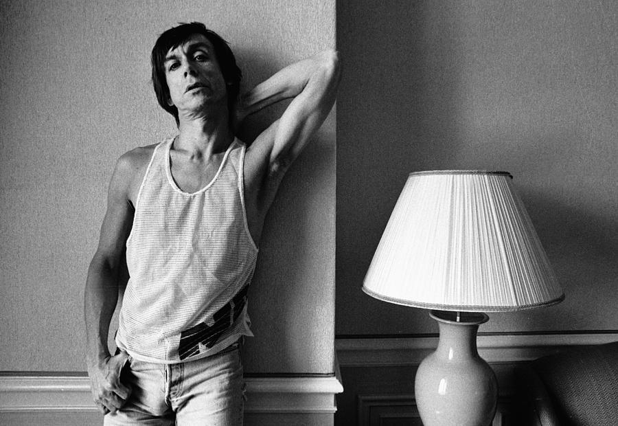 Photo Of Iggy Pop Photograph by Paul Bergen