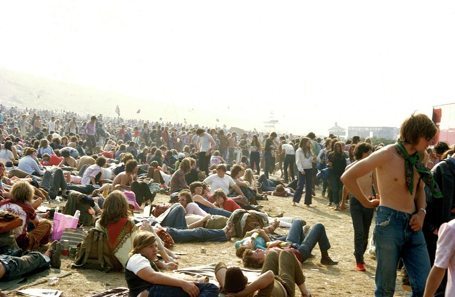 Photo Of Isle Of Wight Festival Photograph by Tony Russell