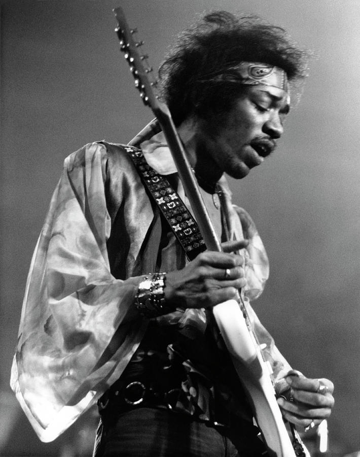 Photo Of Jimi Hendrix And Jimi Hendrix Photograph by David Redfern
