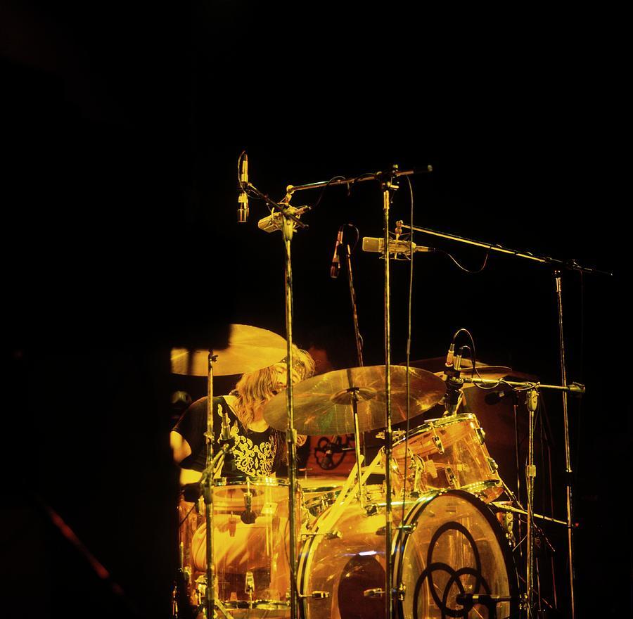 Photo Of John Bonham And Led Zeppelin Photograph by David Redfern