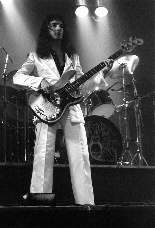 Photo Of John Deacon And Queen Photograph by Erica Echenberg