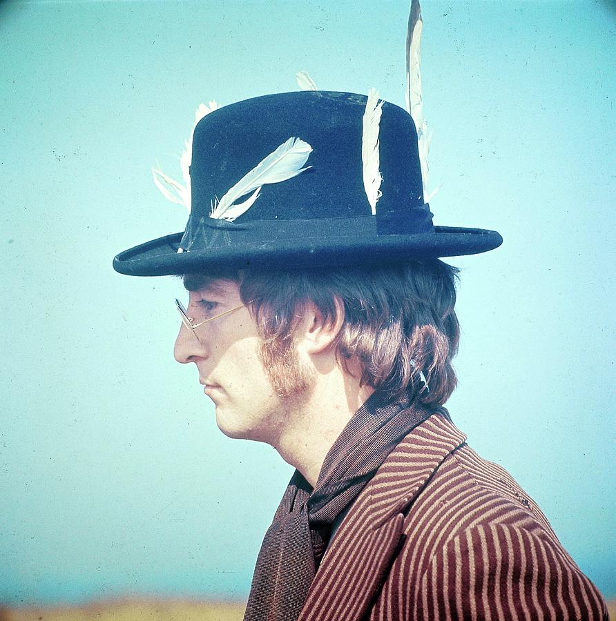 Photo Of John Lennon Photograph by David Redfern