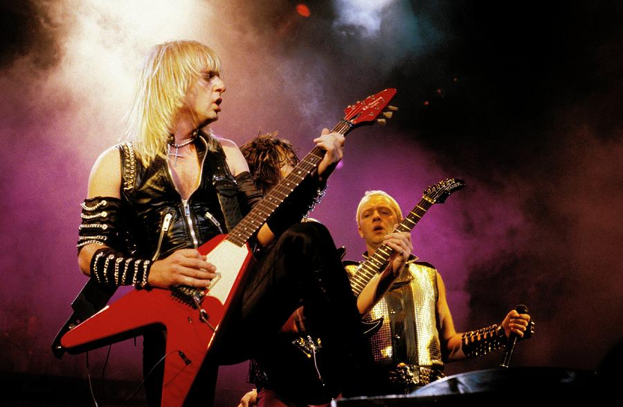 Photo Of Judas Priest And Kk Downing Photograph by Pete Cronin