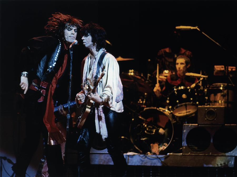 Photo Of Keith Richards And Rolling Photograph by Graham Wiltshire