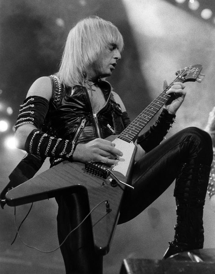 Photo Of Kk Downing And Judas Priest Photograph by Pete Cronin