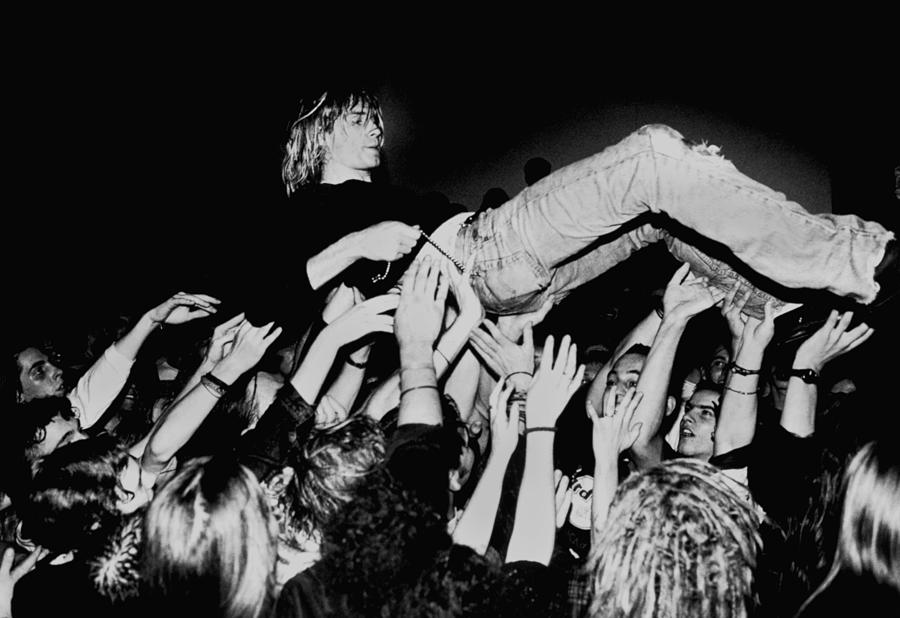 Photo Of Kurt Cobain And Nirvana And Photograph by Paul Bergen