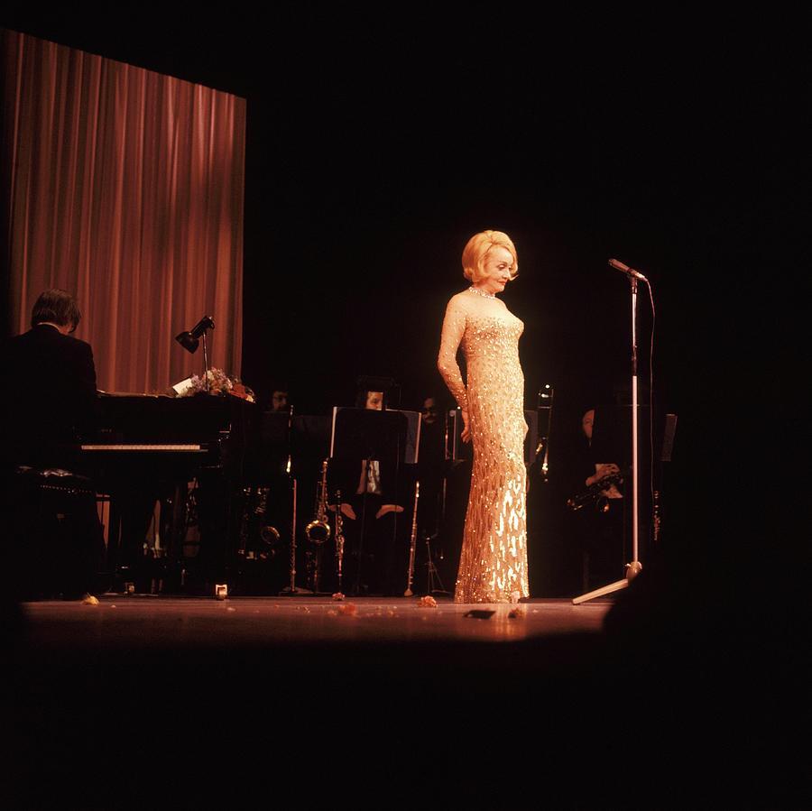 Photo Of Marlene Dietrich Photograph by David Redfern