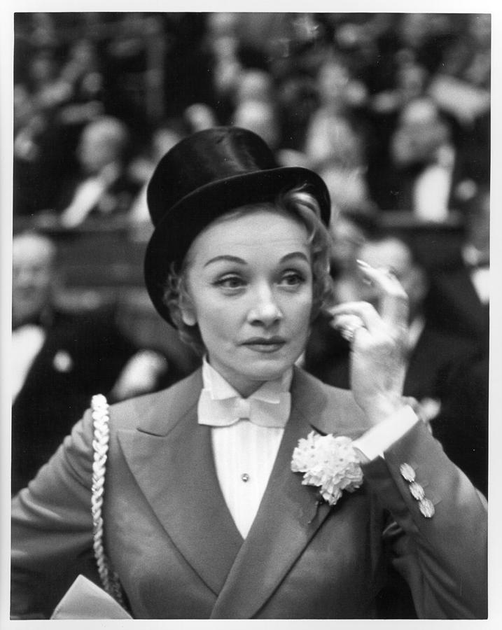 Photo Of Marlene Dietrich Photograph by Michael Ochs Archives