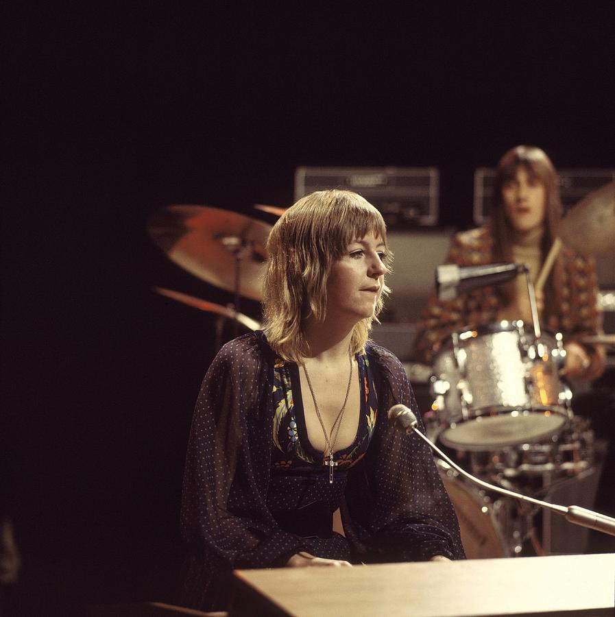 Photo Of Mick Fleetwood And Christine Photograph by David Redfern