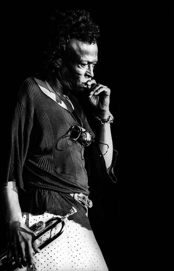 Photo Of Miles Davis Photograph by Paul Bergen