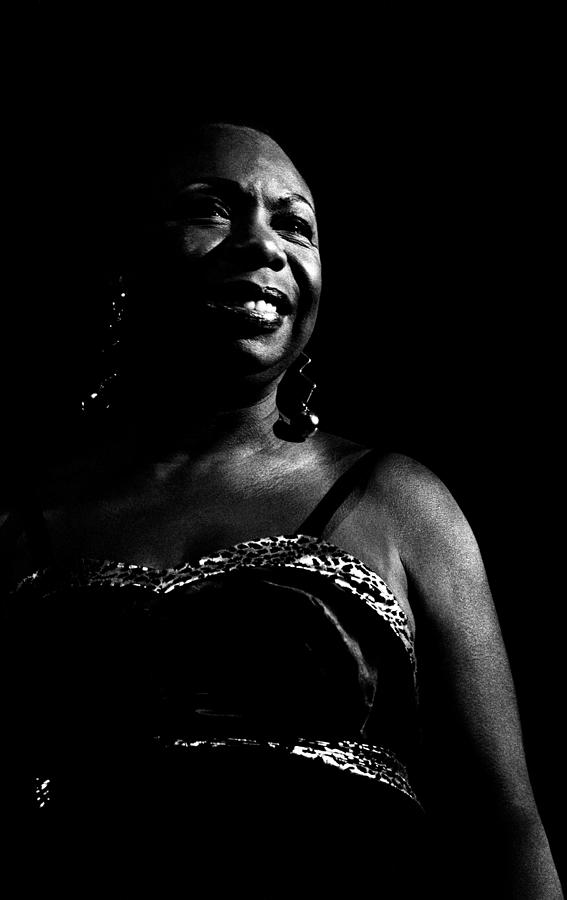 Photo Of Nina Simone Photograph by Paul Bergen