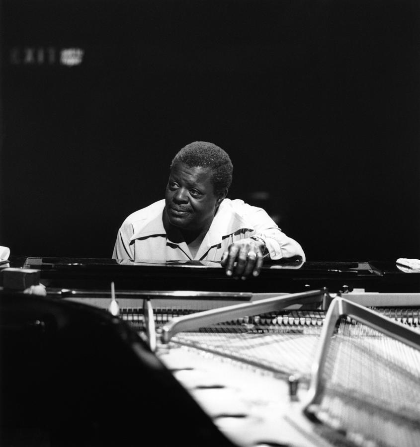 Photo Of Oscar Peterson Photograph by David Redfern